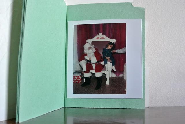 DIY • Vintage Christmas Card Photo Album!