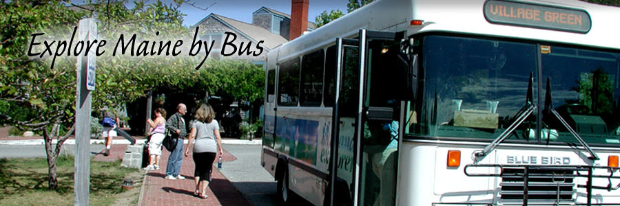 Explore Maine by Bus