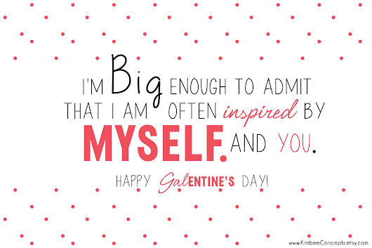» Free Printable Galentine's Day Cards For Your Lady Friends