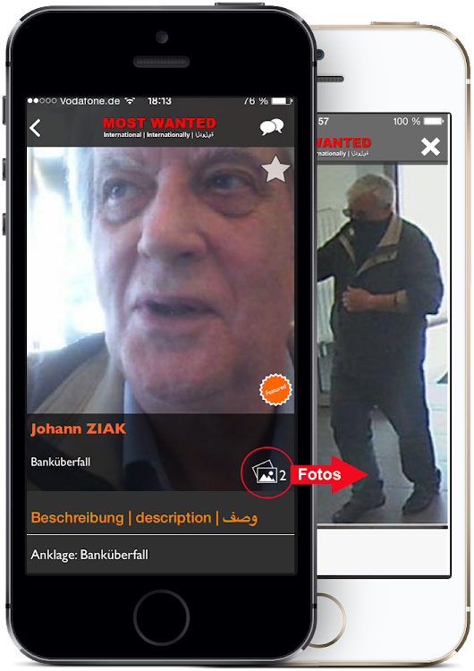 The Most Wanted App | BKA | FBI | Interpol | Europol