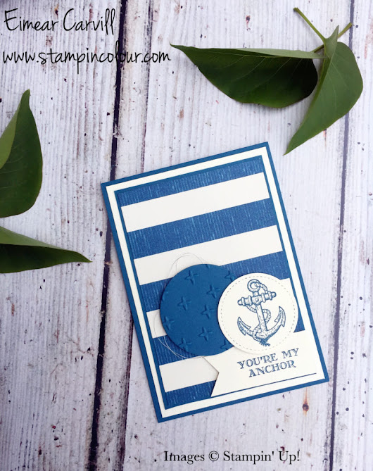 Stampin' Creative Blog Hop - Made for Men |