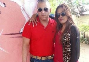 Ángel Rojas y su esposa María López
