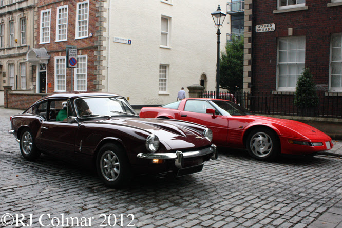 Triumph GT6, Avenue Drivers Club, Queen Square, Bristol