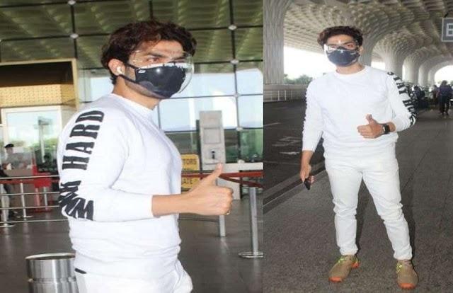 मुंबई एयरपोर्ट पर स्टाइलिश लुक में दिखे गुरमीत चौधरी, सोनू सूद की तरह कर रहे हैं मदद