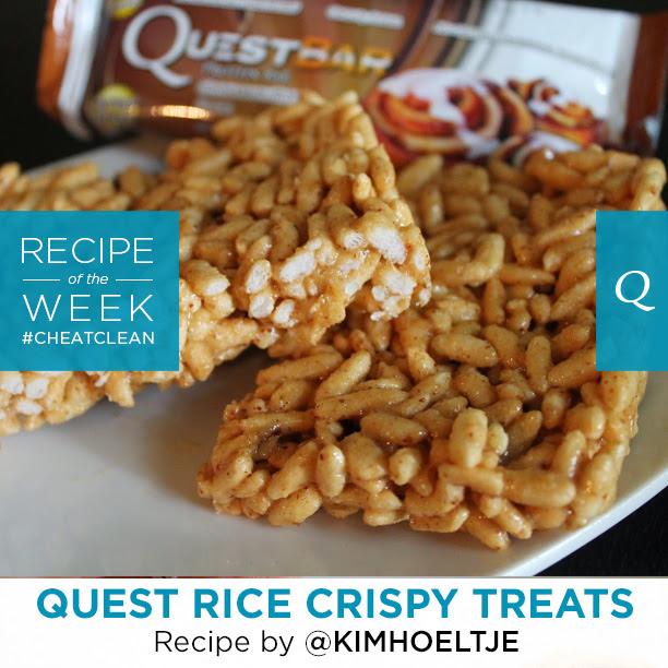 Quest Nutrition Rice Crispy Treats | The Bloq