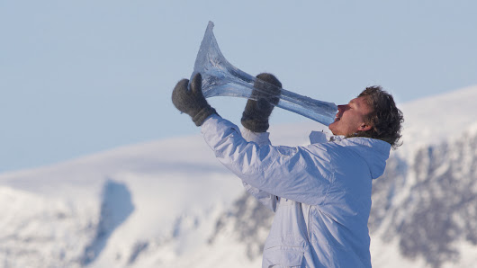 Ice Music: Building Instruments Out Of Water