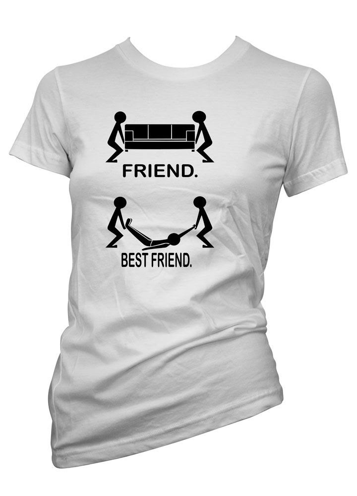 Womens Funny Sayings Slogans tshirts  TopsFriend..Best Friend T Shirt  eBay