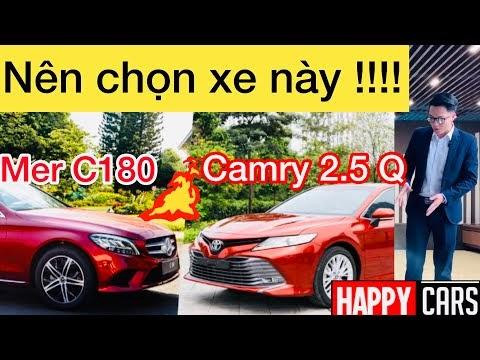 """10 Lý do Toyota Camry 2.5 Q 2020 """" ĂN ĐỨT """" Mercedes C180 2020"""