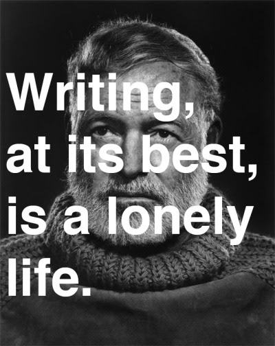 explore-blog:  Ernest Hemingway's 1954 Nobel Prize acceptance speech, adding to our ongoing archive of wisdom on writing.