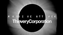 Massive Attack and Thievery Corporation password for concert tickets.