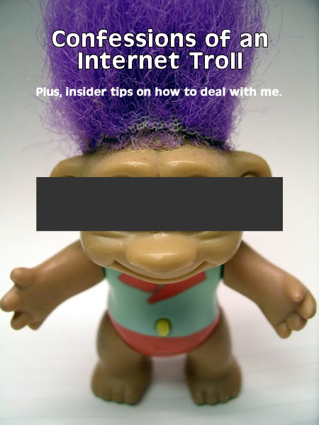 Confessions of Internet Troll