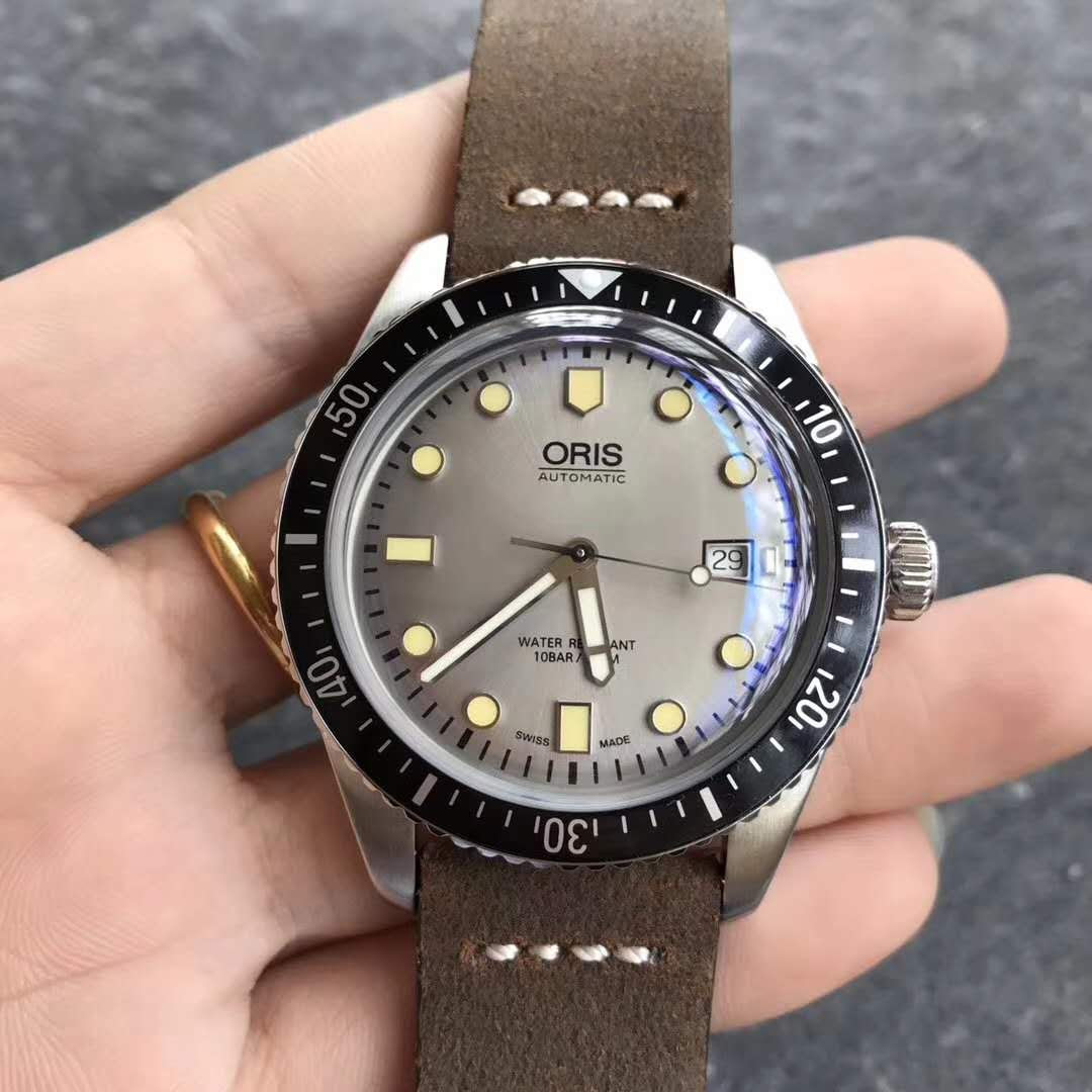 Oris Divers 7720 Silver Grey