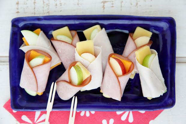 Apple Cheese Wraps recipe