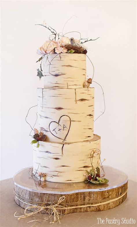 Best 25  Wood wedding cakes ideas on Pinterest   Rustic