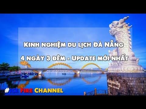 Kinh nghiệm du lịch Đà Nẵng 4 ngày 3 đêm - Update mới nhất