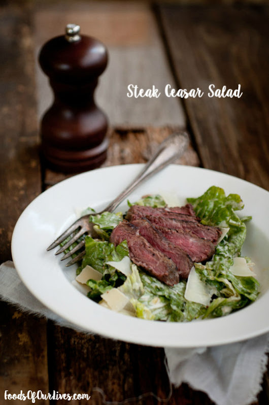 Steak Ceasar Salad