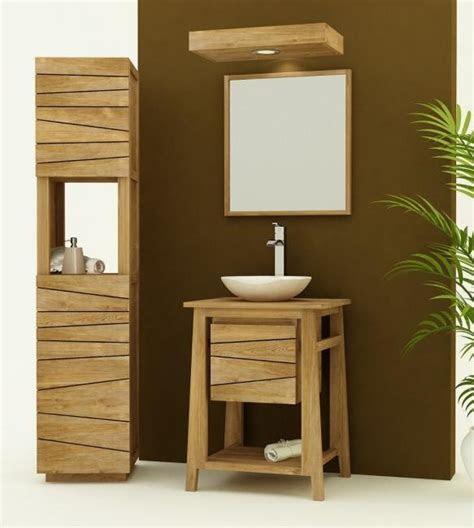 achat meuble salle de bain teck palma choisissez la