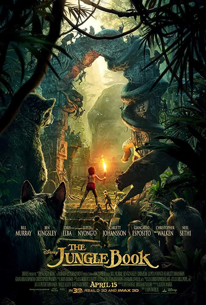 The Jungle Book (2016) Download Full Movie Download Dual Audio {Hindi-English} ESubs BluRay 480p [350MB] || 720p [900MB] || 1080p [3.5GB] - Movie lake, The MoviesFlix | Movies Flix - moviesflixpro.org, moviesflix , moviesflix pro, movies flix