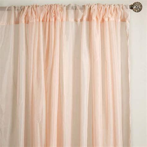 Fire Retardant Sheer Organza Premium Curtain With Rod