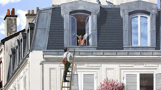 These Amazing Trompe L'oeil Illusions Bring Drab City Buildings To Life