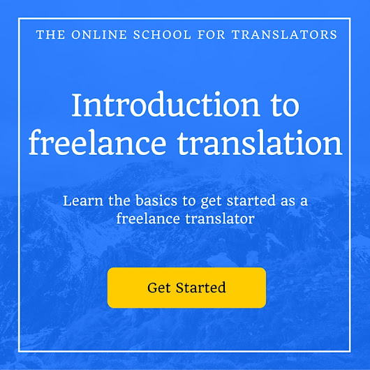 Being a translation intern at an NGO