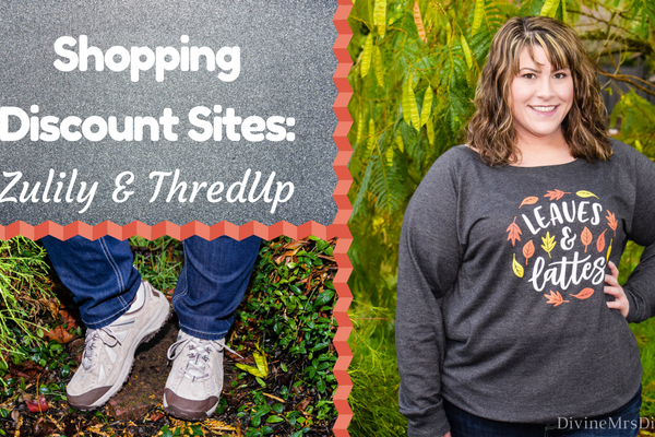 Shopping Discount Sites: Zulily & ThredUp