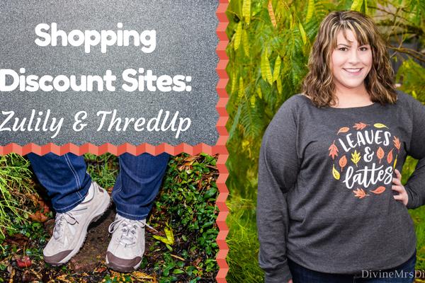 Shopping Discount Sites: Zulily & ThredUp
