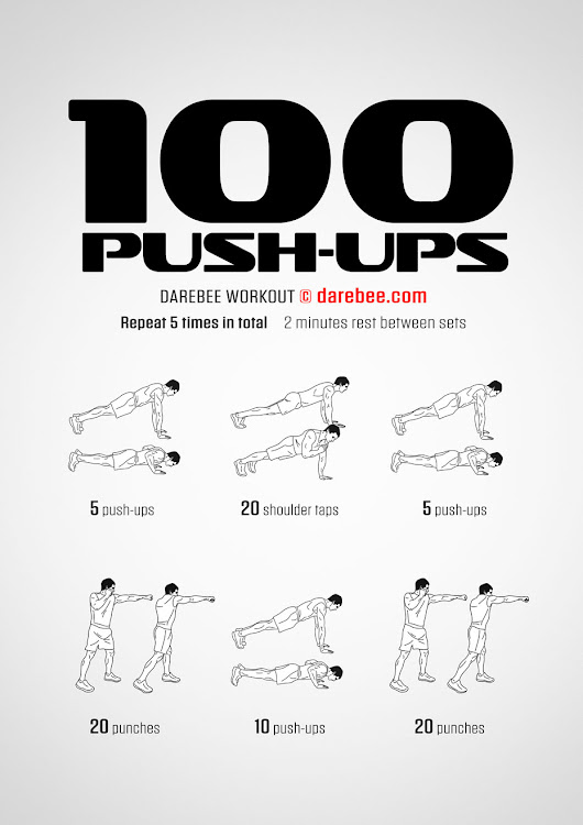 100 Push-Ups Workout