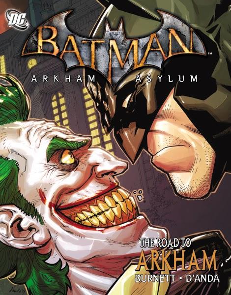 Road To Arkham Comic Book