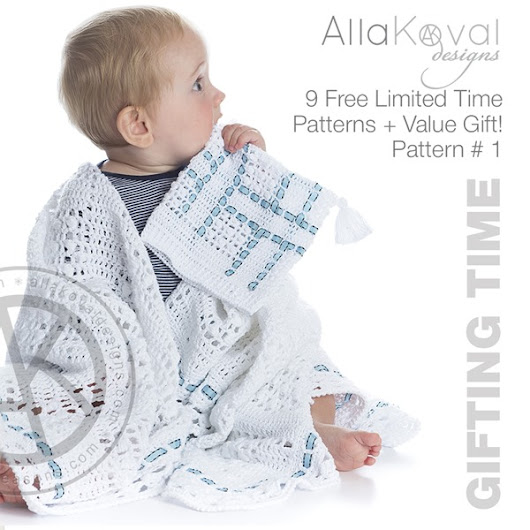 Gifting Time | 9 Free Limited Time Bestselling Patterns + $100 Visa Gift Card!