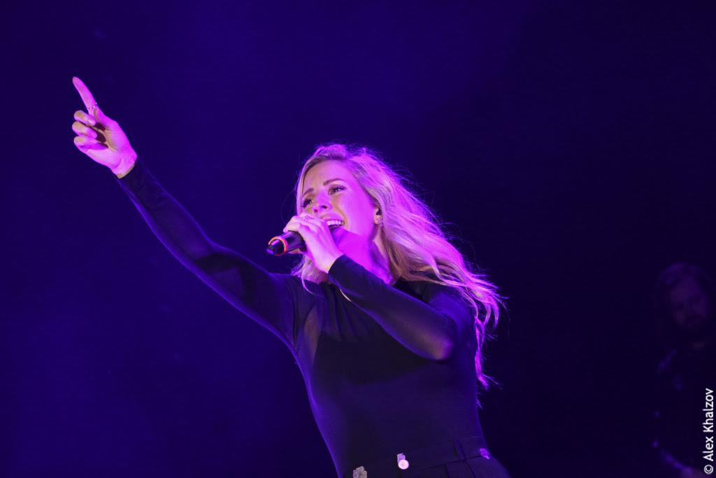Ellie Goulding на фестивале Ласточка