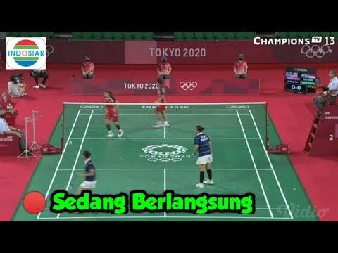 Sedang Berlangsung 🔴 Live INDOSIAR Bulutangkis INDONESIA Olimpiade Tokyo Hari ini 29 Juli 2021
