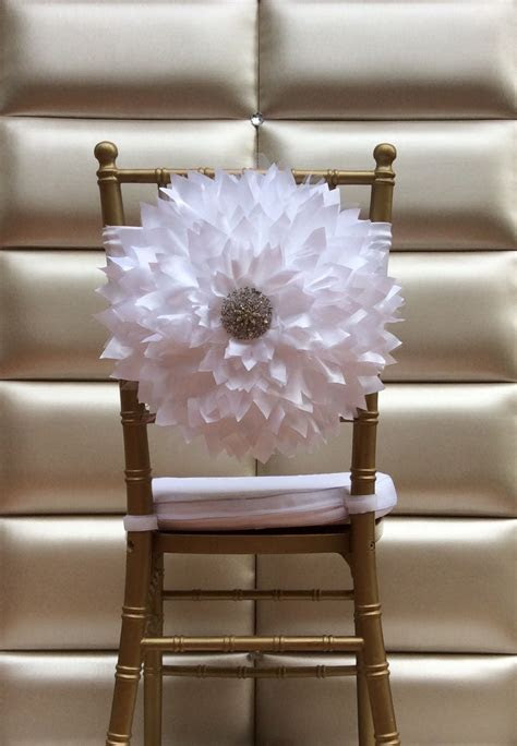 Flower chair sash by FloraRosa Design   FloraRosa Design
