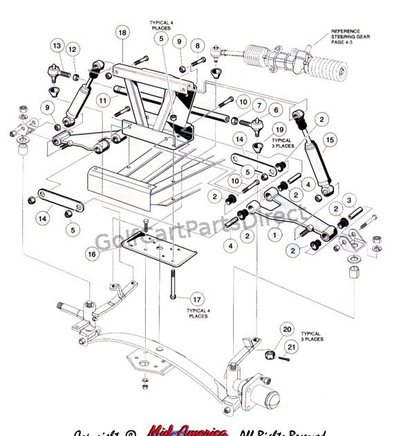 Wiring Diagram 1995 Club Car Ds