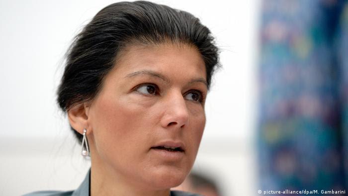 Sarah Wagenknecht di Die Linke