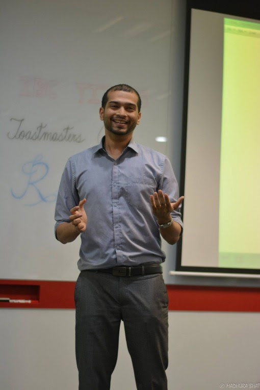 Toastmasters Project 4 Speech by Amrutash