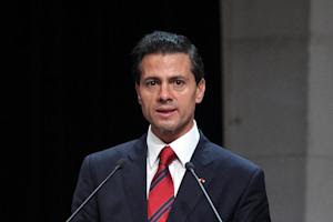 President of Mexico, Pena Nieto, pictured during a…