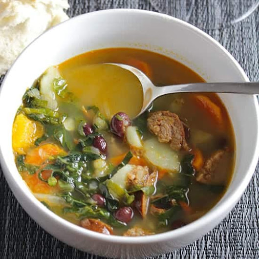 Best Portuguese Kale Soup #winePW | Cooking Chat