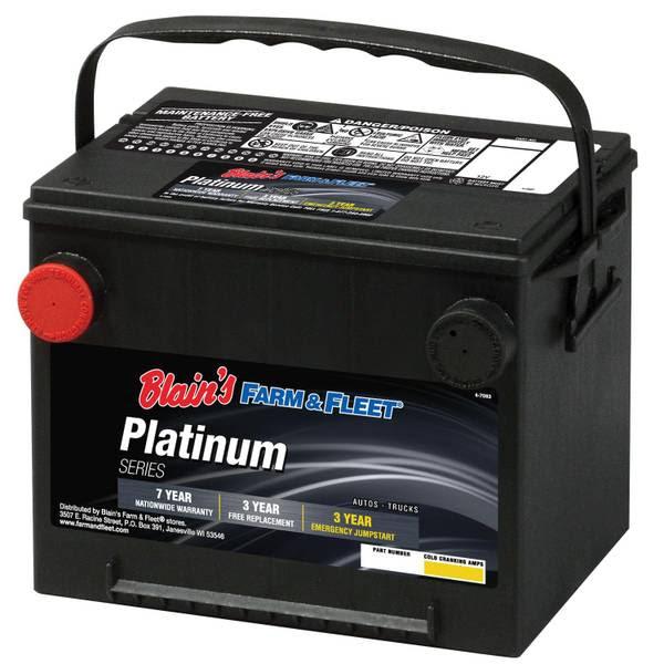 Blains Farm Fleet 7 Year Platinum Automotive Battery