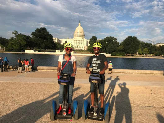 I Did A Segway Tour For The First Time - MimiCuteLips