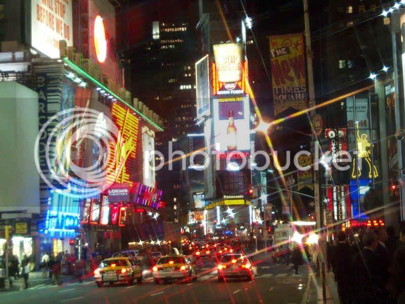 Lights of Broadway NYC