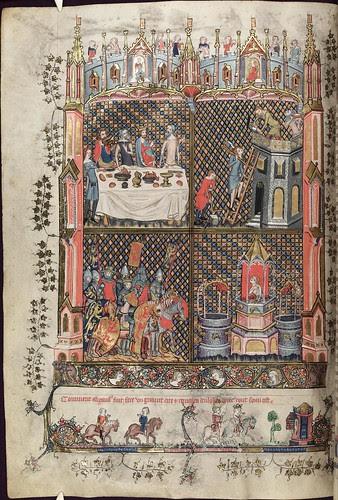 The Romance of Alexander 67v MS. Bodl. 264