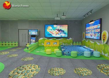 Duvar Oyunları Sihirli Deniz Kapalı Interaktif Projeksiyon çocuk