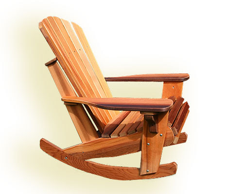 adirondack rocking chair woodworking