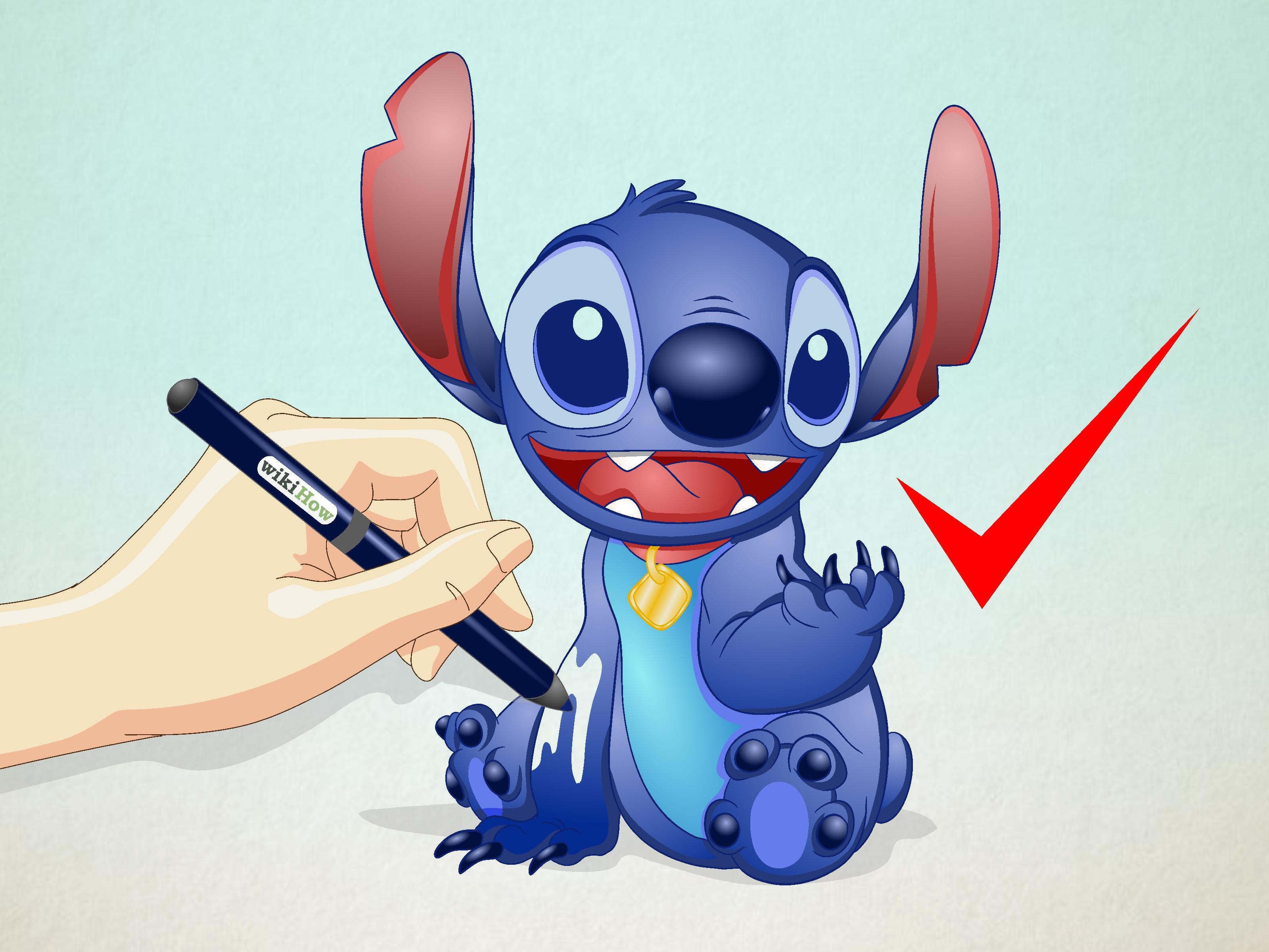 How To Draw Stitch Pictures To Pin On Pinterest