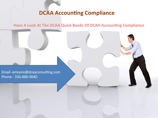 Have A Look At The DCAA Quick Books Of DCAA Accounting Compliance
