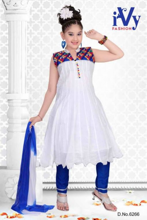 Trade-india-Summer-Anarkali-Beautiful-Cute-Eid-Dresses-2013-For-Kids-Childrens-11