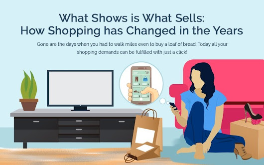 What Shows is What Sells: How Shopping Has Changed Over the Years [Infographic]