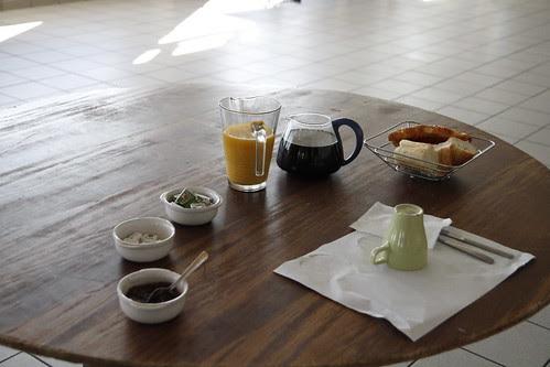 Last breakfast in Brignogan