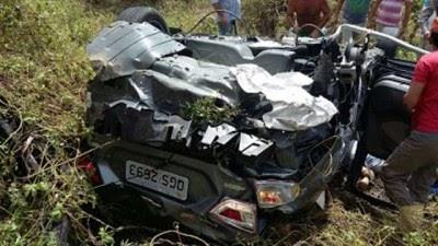 Grave acidente entre Patos e Santa Gertrudes deixa uma pessoa morta e três feridas, diz PRF